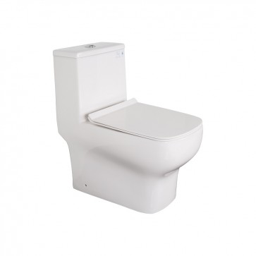 KDK A03 Jet Siphonic One-Piece Elongated Toilet