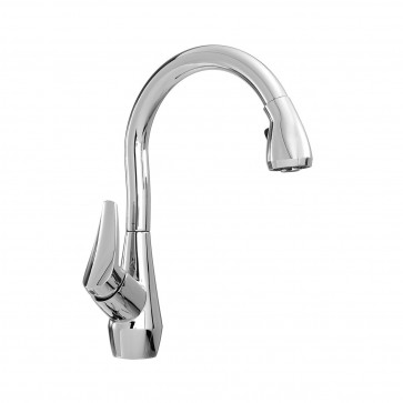 Kalia KF1033 Neris Diver Pull Down Kitchen Faucet With Spray Head