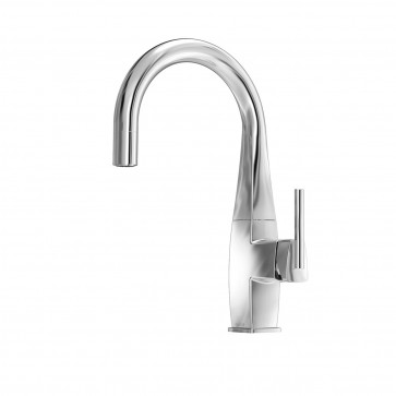 Kalia KF1048 Elito Junior Pull Down Kitchen Faucet With Spray Head