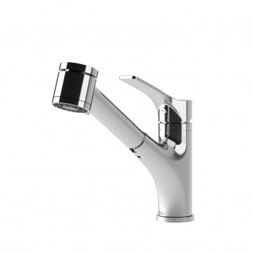 Kalia KF1268 Deka Pull Out Kitchen Faucet With Spray Head