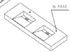 Montreux KL810580B-60 Double Sink Top