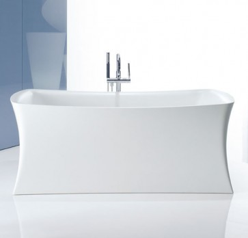 "Kohler K-1805 Aliento Collection 66"" Freestanding Lithocast Designer Bathtub"
