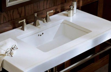 "Kohler K-2297 Kathryn 24"" Undermount Bathroom Sink"