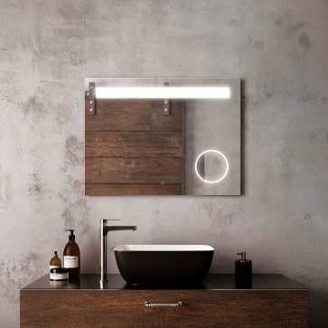 Kalia MR1465-500-001 Emblem Bathroom Makeup Mirror - 32 X 24