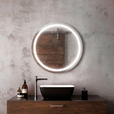 Kalia MR1661-500-001 Effect Bathroom Mirror - 30 X 30