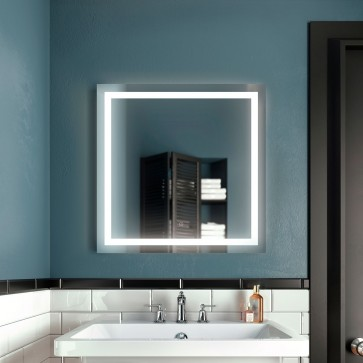 Kalia MR1663-500-001 Effect Bathroom Mirror - 30 X 30