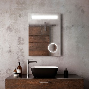 Kalia MR1672-500-001 Emblem Bathroom Makeup Mirror - 24 X 32