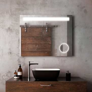 Kalia MR1673-500-001 Emblem Bathroom Makeup Mirror - 38 X 30