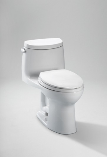 Toto MS604114CEFG UltraMax II 1.28 GPF with SanaGloss - ADA Toilet