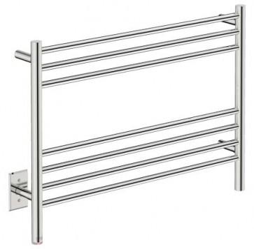 "Bathroom Butler NAT07141-PTS Natural 7 Bar 32"" Straight Heated Towel Rail"