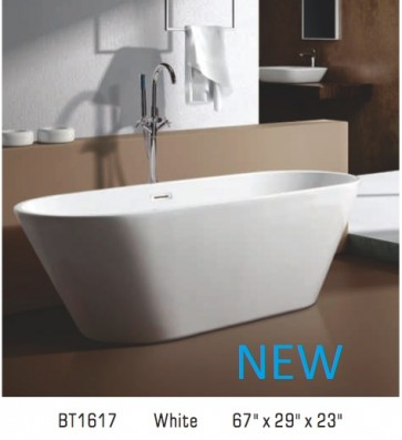 Piatti BT1617 Free Standing Bathtub