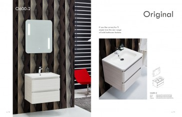Piatti O600-2 Modern Bathroom Single Vanity