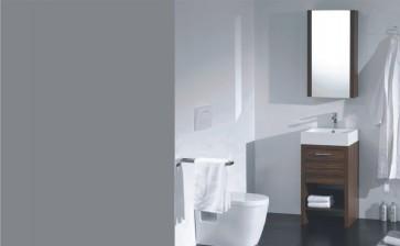 Piatti L450 Modern Design Bathroom Vanity Single Acrylic Sink
