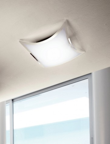 Sikrea QUADRO-PL37 Quadro 2 Light Ceiling Lamp