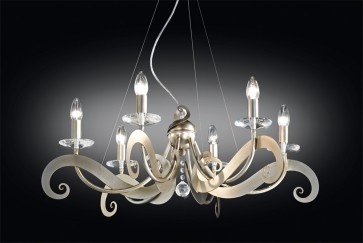 Sikrea SOFIA-S Sofia 6 Light Hanging Lamp