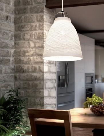Sikrea ZOE-S Zoe 1 Light Hanging Lamp