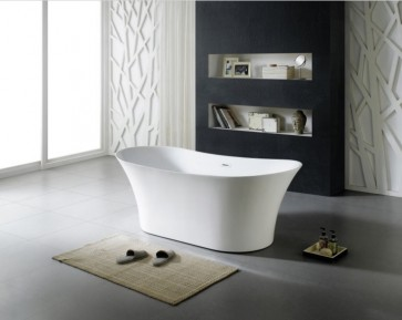 Solaris Modern Freestanding Soaking Bathtub