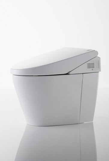Toto MS982CUMG#01 Cotton Neorest One Piece Elongated 0.8 GPF Toilet/Bidet with Cyclone Flush System