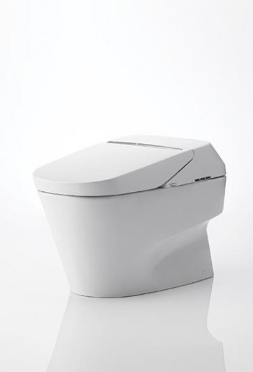 Toto MS992CUMFG#01 White Neorest One Piece Elongated 1.0 GPF Toilet/Bidet with Cyclone Flush System