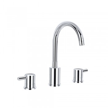 Isenberg 100.2000 Series 100 Three Hole Widespread Two Handle Bathroom Faucet