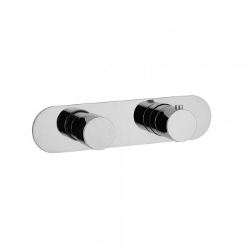 Isenberg 100.2693 Series 100 Horizontal Thermostatic Shower Valve With Volume Control & Trim
