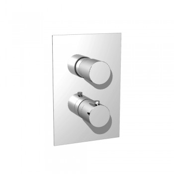 Isenberg 100.4101 Series 100 Thermostatic Shower Valve With Volume Control & Trim