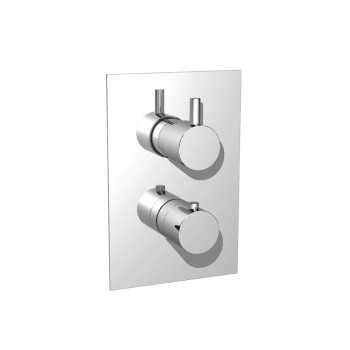 Isenberg 100.4301 Series 100 Thermostatic Valve with 3-Way Diverter and Trim