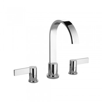 Isenberg 145.2410CP Series 145 3 Hole Deck Mount Roman Tub Faucet