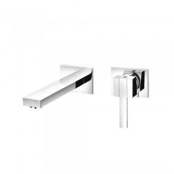 Isenberg 150.1800CP Series 150 Single Handle Wall Mounted Bathroom Faucet