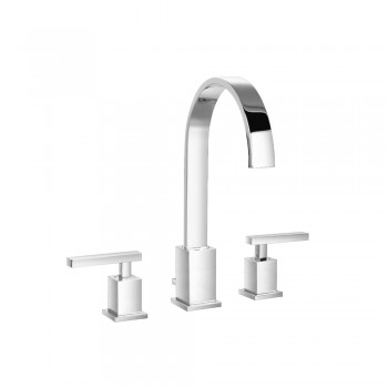 """Isenberg 150.2000CP Series 150 Three Hole 8"""" Widespread Two Handle Bathroom Faucet"""