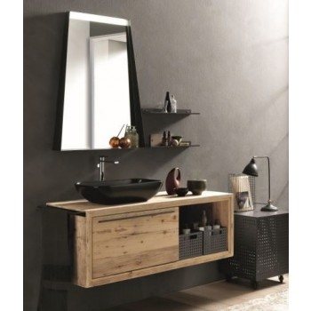 Archeda 1SP6789 Wood Ercole Mirror