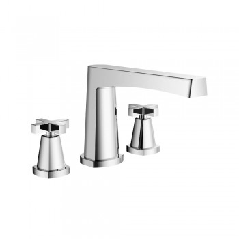 Isenberg 240.2410 Series 240 3 Hole Deck Mounted Roman Tub Faucet