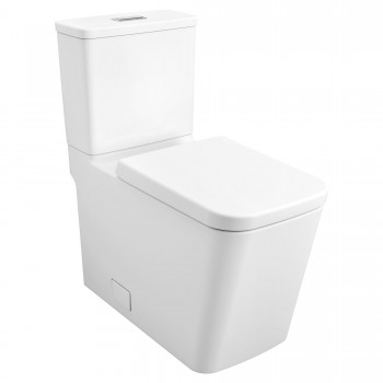 Eurocube 39661000 2-Pcs Dual Flush Right Height Elongated Toilet with Seat