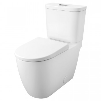 Essence 39674000 2-Pcs Dual Flush Right Height Elongated Toilet with Seat