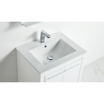 BNK BBC2418TE Venice Porcelain Bathroom Vanity Top