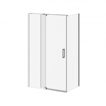 Kalia DR1745+DR1748 Distink 48 X 77 X 32 Pivot Shower Door