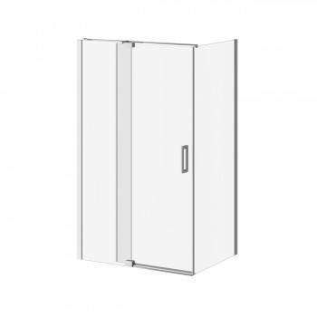 Kalia DR1745+DR1749 Distink 48 X 77 X 36 Pivot Shower Door