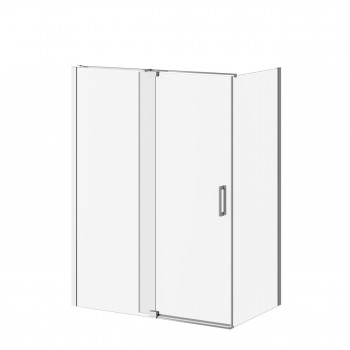 Kalia DR1747+DR1749 Distink 60 X 77 X 36 Pivot Shower Door