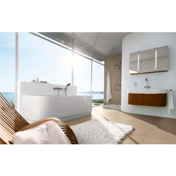 Piatti Duravit Happy D Bathtub Back-to-Wall