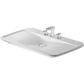 "Duravit 03711000001 PuraVida Sink 39 3/8"" inches"