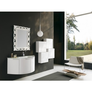 Acquaviva Modern Bathroom Vanity Arch Glass Sink