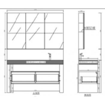 Montreux KL910580B Medicine Cabinet
