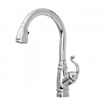 Kalia KF1032 Monark Diver Pull Down Kitchen Faucet With Spray Head