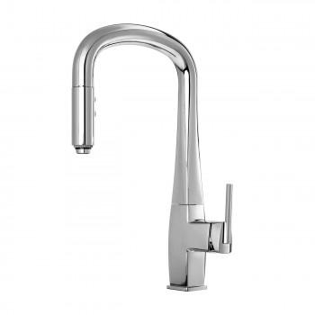 Kalia KF1036 Elito Diver Pull Down Kitchen Faucet With Spray Head