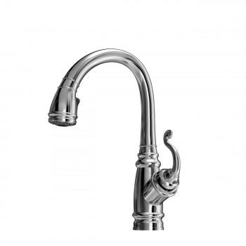 Kalia KF1046 Monark Junior Pull Down Kitchen Faucet With Spray Head