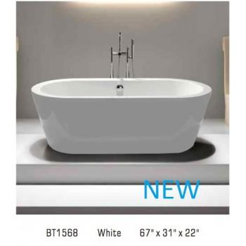 Piatti BT1568 Free Standing Bathtub