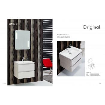 Piatti O600-2 Modern Bathroom Single Vanity