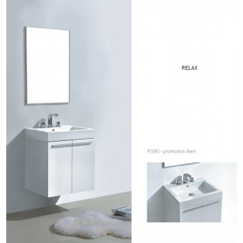 Piatti Vanity R580 Single Poly Marble Sink