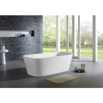 Potenza Modern Freestanding Soaking Bathtub