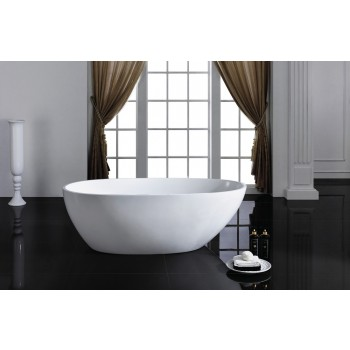 Tenna Modern Freestanding Soaking Bathtub